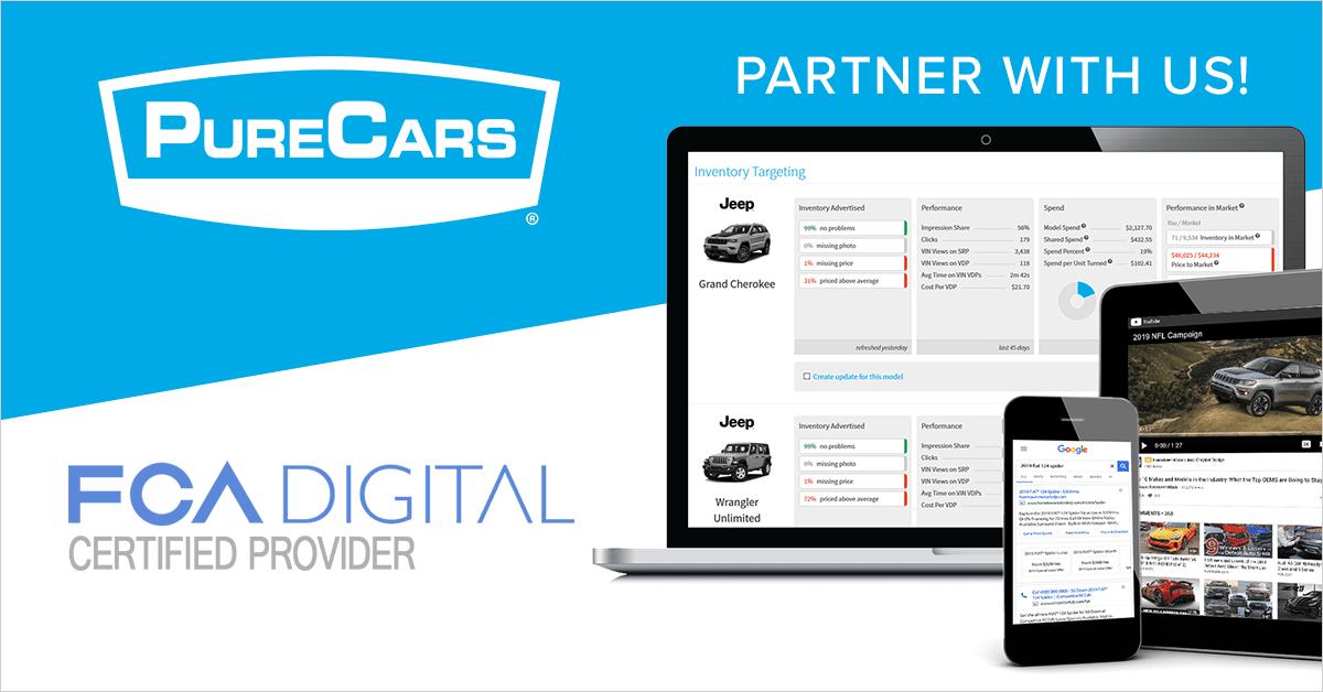 PureCars Named FCA Digital Provider