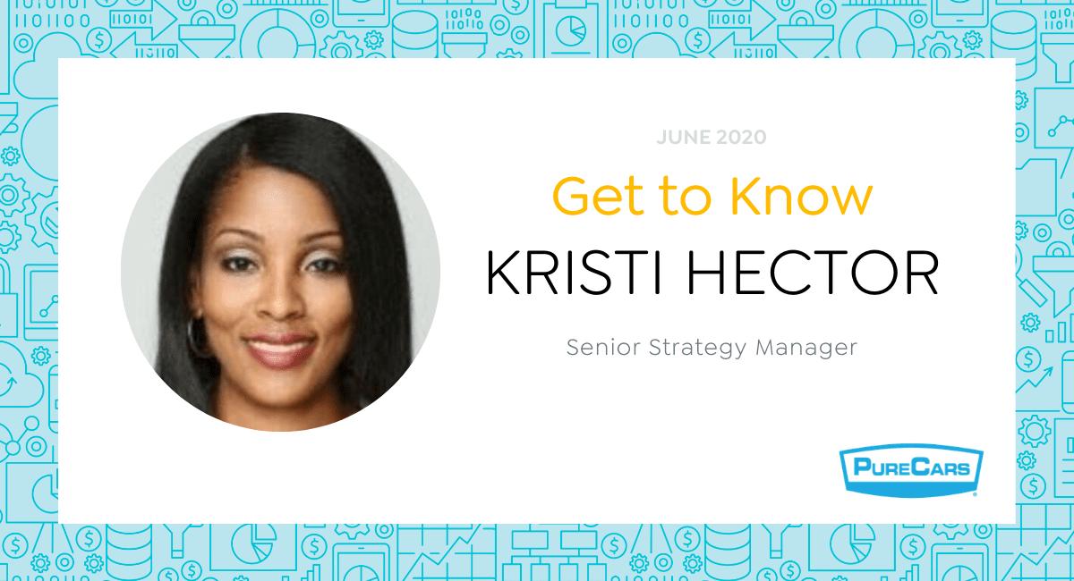 PureCars Spotlight: Get to Know Kristi Hector -