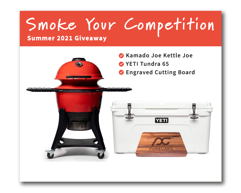 """PureCars """"Smoke Your Competition"""" Summer Giveaway."""